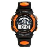 Spesifikasi Ulamore Waterproof Mens Boy S Digital Led Quartz Alarm Tanggal Olahraga Wrist Watch Or Intl Online