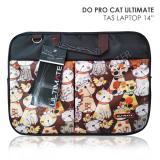 Harga Ultimate 14 Tas Laptop Double Pro Cat Coklat Yang Murah