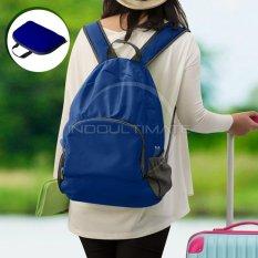 Ultimate Tas Punggung Lipat / Backpack Lipat Travelling Waterproof IM OR 10- 01 - Dark Blue