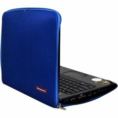 Ultimate Classic 14 Inch Blue Tas Laptop Case Softcase Sleeve Bag Cover Terbaru