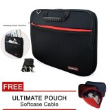 Jual Ultimate Laptop Bag Tas Jinjing Softcase Pria Wanita Double Sport Free Cable Pouch 14 Inch Ultimate Grosir