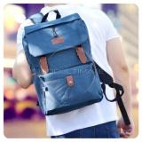 Review Toko Ultimate Tas Pria Wanita 839 Blue Backpack Anak Cewek Sekolah Remaja Korea Import Batam Murah Branded Cantik Ransel Laptop Perempuan