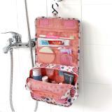 Review Pada Ultimate Tas Kosmetik Peralatan Mandi Organizer Gantung Toilet Hanging Bag Organizer Motif Im Or 52 01 Smile Peach