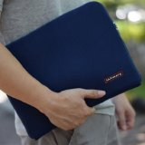 Ultimate Tas Bag Cover Softcase Backpack Laptop Pria Wanita Classic 14 Inchi Dark Blue Ultimate Diskon 30