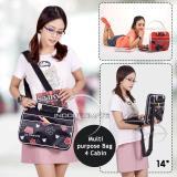 Beli Ultimate Tas Laptop Double Mickeypants 14 Inch Black Softcase Wanita Cewek Korea Import Murah Branded Online Murah