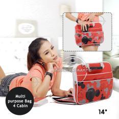 Harga Ultimate Tas Bag Cover Softcase Backpack Laptop Pria Wanita Mic Head 14 Red Yang Murah