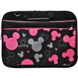 Jual Ultimate Tas Bag Cover Softcase Backpack Laptop Pria Wanita Triple Mickey 12 Inch Black Murah