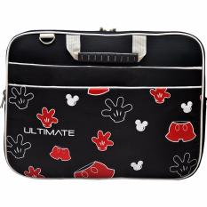 Harga Ultimate Tas Bag Cover Softcase Backpack Laptop Pria Wanita Triple Mickey Pants 14 Inch Black Original