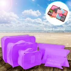 Review Ultimate Travel Bag 6In1 Organizer Im Or 60 01 Organizer Space Koper 1 Set Purple Ultimate Di Indonesia
