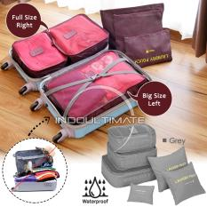 Ultimate Travel Bag 6in1 Organizer IM OR 60-01/Organizer Space Koper 1 Set - Gray