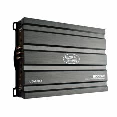 ULTRA DRIVE UD-600.4 4 Channel Mosfet Power Amplifier  Max. 9000W