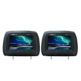 Toko Ultra Linear Ul Hm737 7 Headrest Monitor Black Di Indonesia