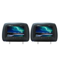 Review Tentang Ultra Linear Ul Hm737 7 Headrest Monitor Black