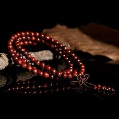 Paman Sam Buddha Cendana Meditasi 6mm 108 Prayer Bead Malabracelet Kalung-Intl