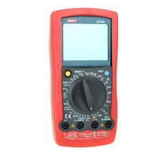 UNI-T UT107 LCD Handheld Automotive Multi-purpose Resistance AC/DC Penguji-Internasional