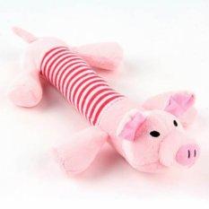 Unipet - Mainan Anjing Kucing Boneka Babi - Pink