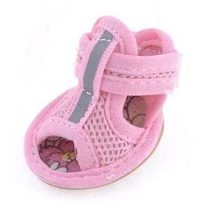 Unipet Sepatu Anjing Kucing Dog Cat Shoes Size 3 - Pink