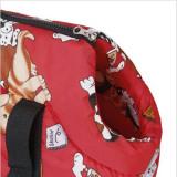 Toko Unipet Travel Bag Anjing Kucing Merah Unipet