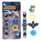 Uniq 545 Aws Jam Tangan Anak Bongkar Pasang Model Lego Batman Di Dki Jakarta