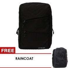 Spesifikasi Unique Backpack Laptop Korean Tas Star Royal Hitam Free Raincoat Beserta Harganya