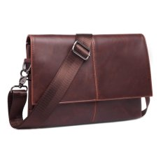 Unique Tas Tangan Selempang Pria Sling Bag Unisex Bahan Kulit Leather Executive Unique Diskon 40