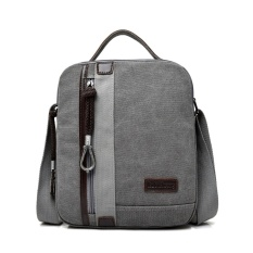 Unique Tas anti air Selempang Messenger Kanvas Travel Pria Unisex Korea Sling Shoulder Bag for Tablet - Ipad Multifungsi M6