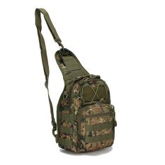 Spesifikasi Unique Tas Bahu Dan Pinggang Selempang Army Army Sling Bag Digital Green Terbaik