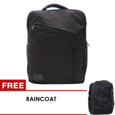 Beli Unique Tas Laptop Backpack Dan Sling Bag Korean Elite Combo1 3 In 1 Hitam Free Raincoat