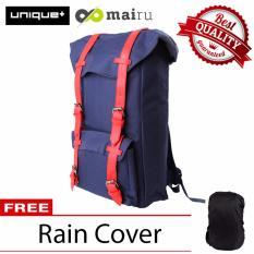 Beli Unique Tas Laptop Backpack Ransel Korean Elite K9 Biru Free Raincoat Pake Kartu Kredit