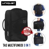 Top 10 Unique Tas Ransel Backpack 3In1 Ransel Softcase Dan Slempang 34685 Model Palace Hitam Online