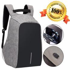 Unique Tas Ransel Laptop Bobby Backpack USB Power Bank Support Anti-Theft Model XD Palo Alto Design - Tas Ransel Untuk Sekolah Kerja Anti Maling Waterproof XD
