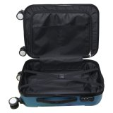 uNiQue Travel Luggage Koper Kabin Hardcase Speedlite 20 inch Hitam + FREE Sarung Koper EasyProtect | Lazada Indonesia