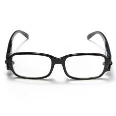 Harga Adapula Hitam Berbingkai Kacamata Baca Kacamata With Lampu Led 2 5 Baru Murah