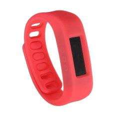 Unisex Kebugaran Olahraga Gelang Bluetooth Pintar Jam Tangan Digital
