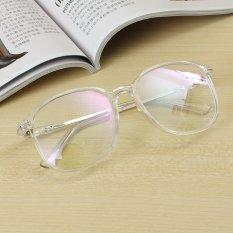 Dapatkan Segera Unisex Kacamata Berbingkai Penuh Transparansi Lensa Kacamata Bingkai Kacamata Transparansi Apparent Reason