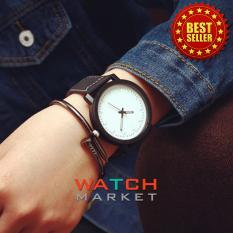 Review Unisex Men Men Quartz Analog Wrist Watch Watches Black White Blue Lans