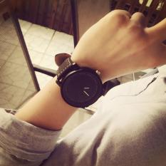 Cara Beli Unisex Pria Wanita Quartz Analog Wrist Watch Watches Hitam Gratis Pengiriman Intl