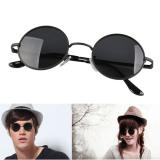Jual Adapula Terlalu Besar Vintage Hitam Bulat Bundar Warna Kacamata Hitam Besar Kacamata Murah