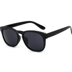 Harga Unisex Kacamata Hitam Hitam Satu Set