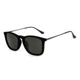 Harga Unisex Velvet Round Frame Vintage Big Square Sunglasses Black Terbaru