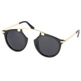 Ulasan Tentang Unisex Vintage Style Sunglasses Eyewear Kacamata Kasual Retro Kacamata Intl