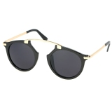 Ongkos Kirim Unisex Vintage Style Sunglasses Eyewear Kacamata Kasual Retro Sunglasses Di Tiongkok