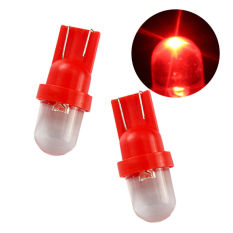 Universal - 1 Pasang / (2 pcs) Lampu LED Mobil / Motor / Senja T10 / W5W Convex 1 SMD - Red