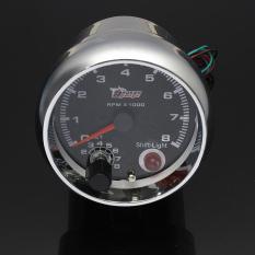 Spesifikasi Universal 12 V 3 75 Rev Tachometer Tacho Gauge Counter Shift Light 8000 Rpm Merk Oem
