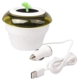 Dimana Beli Universal 2 In 1 Usb Peace Grass Car Fresh Air Purifier Putih Universal