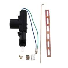 Universal 2 Kabel Kunci Central Entri 12 V DC Motor Auto Pop Solenoid Actuator