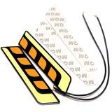 Toko Universal 2 Pcs Cob Led Mobil Drl Siang Hari Lampu Lampu Sinyal Lampu Kabut Semua Dalam Satu Intl Lengkap