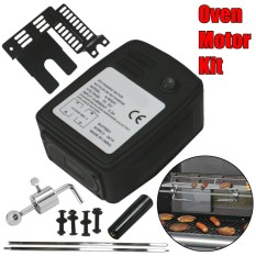 Universal 3V Battery Charger Rotisserie Oven Motor Grill BBQ Barbecue Handle Kit - intl