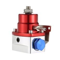 Universal Adjustable 0-160PSI AN6 Fitting EFI Pemakaian Pengatur Tekanan Kit dengan Line Hose-