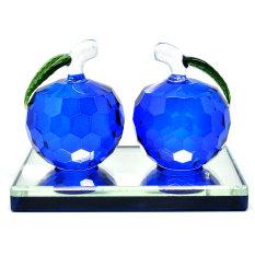 Harga Hemat Universal Apple Crystal Car Parfume Parfum Mobil Biru Tua